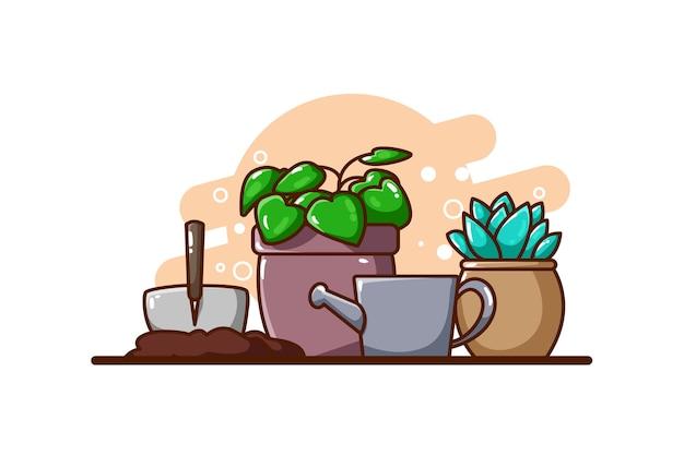 식물 아이콘 그림