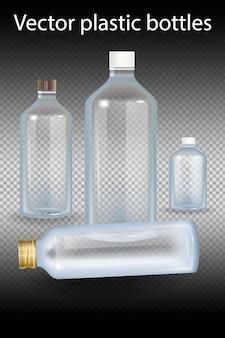 Plastic bottle illustration.