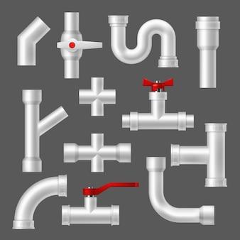 Пластиковые трубы и трубки, трубопроводная арматура