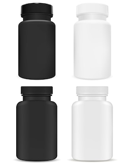 Plastic supplement package.