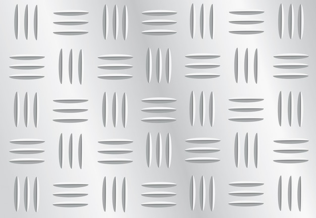 Plate metal background vector