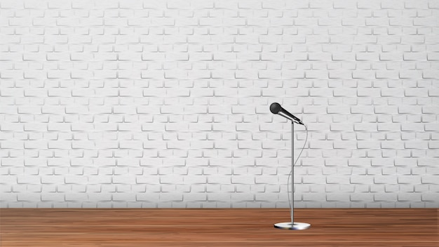 Platform for stand up comedy show template