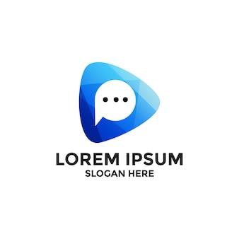 Дизайн логотипа игрового чата