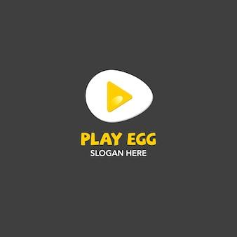 Riproduci lo sfondo del logo d'uovo