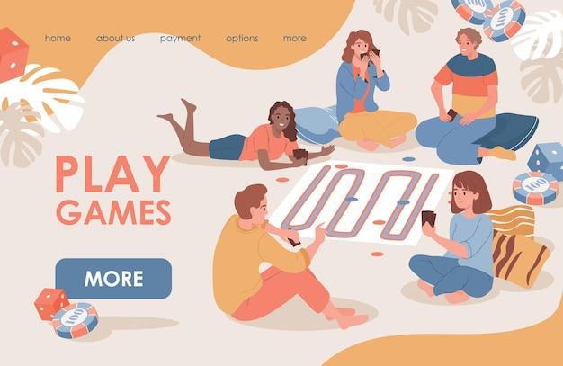 Шаблон целевой страницы play games