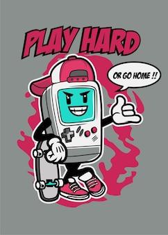 하드 게이머 플레이