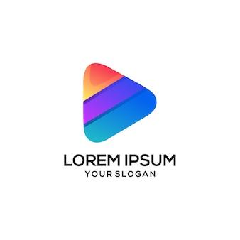 Дизайн логотипа play