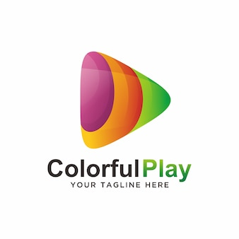 Play logo design