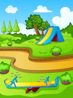 Play park for children. nature  landscape