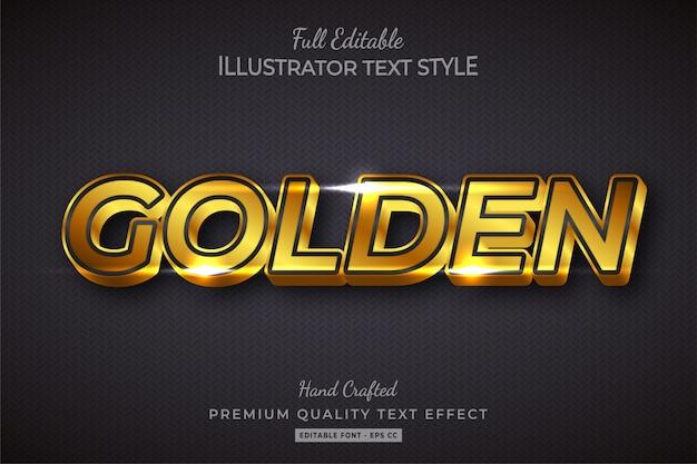 Player cartoon 3d text style effect