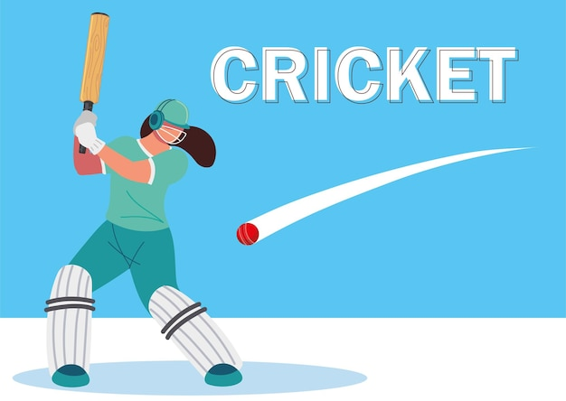 Player character cricket championship sports