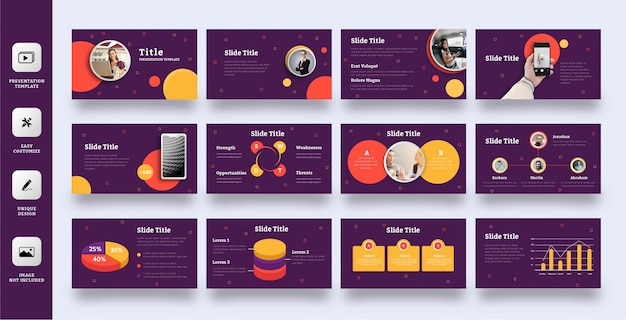 Playful multipurpose powerpoint template