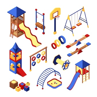 Playground icons set