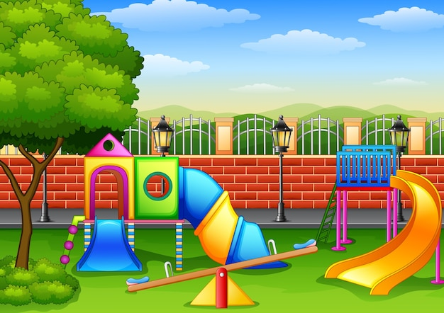 Playground in the park
