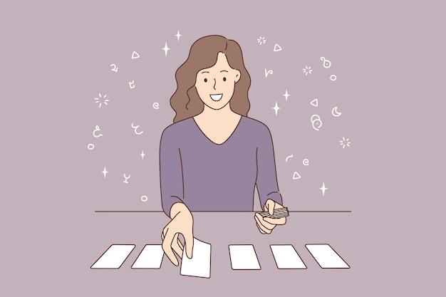 카드 놀이 및 개별 예후 개념