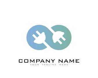 Plug logo design