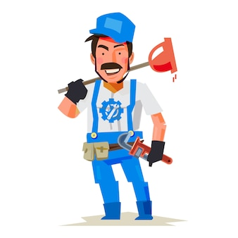 Plumber character