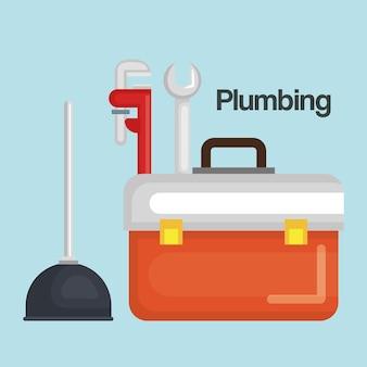 Набор инструментов для сантехники