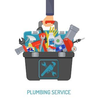 Концепция сантехнических услуг