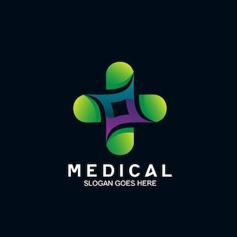 Plus medical logo design