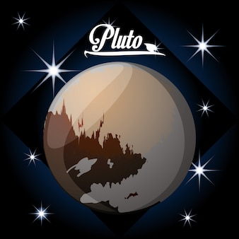 Pluto planet in the solar system creation
