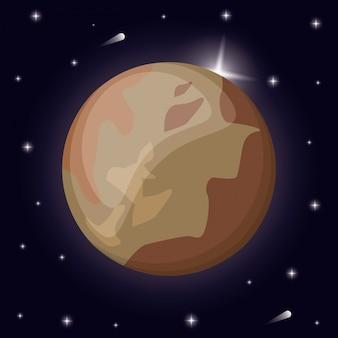 명왕성 행성 태양계 공간
