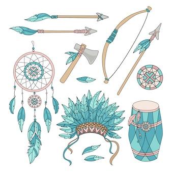 Pocahontas goodsアメリカインディアン