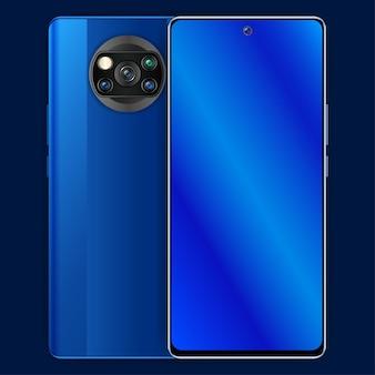 Pocophonex3リアルなスマートフォンデザイン
