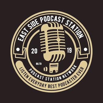 Podcast badgeロゴ