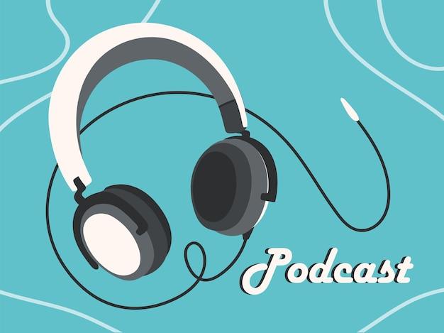 팟캐스트 헤드폰 직업