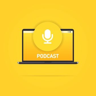 Podcast, media and entertainment user interface