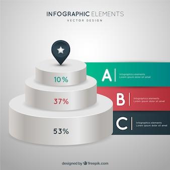 Podium infographic