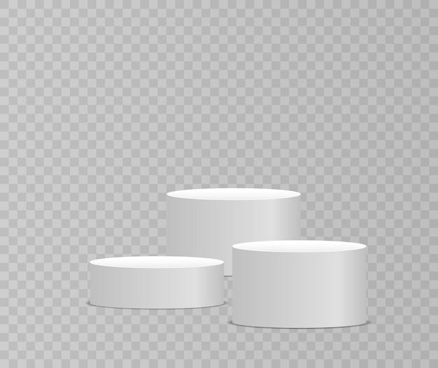 판촉 판매 배너 벡터를 위한 시상식 및 제품 프레젠테이션을 위한 연단 또는 플랫폼