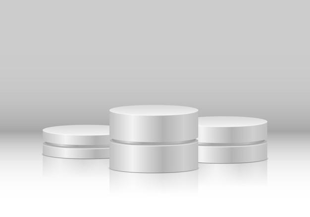 시상식 및 제품 발표를위한 연단 또는 플랫폼 수상자 용 받침대