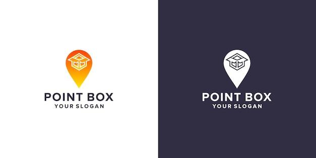 Point box logo template