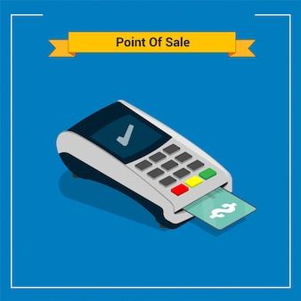 Point of sale illustration