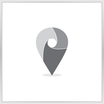 Pointer map icon