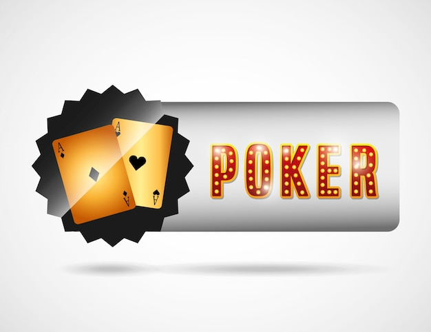 Poker club logotype