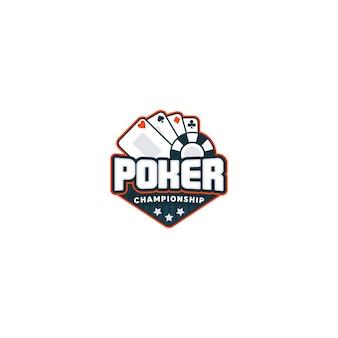 ポーカーのロゴ。