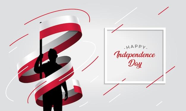 Poland independence day   illustration