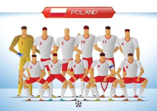 Poland national football team for international tournament