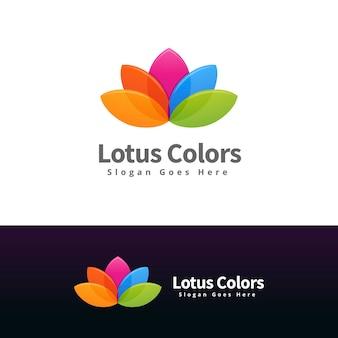 Polar bear logo design template