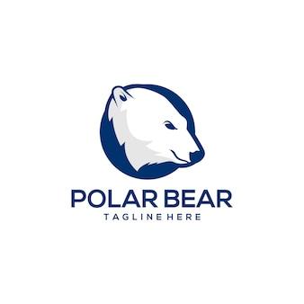 Polar bear logo ready to use