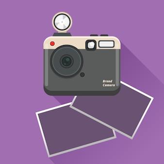 폴라로이드 카메라 및 사진