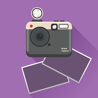 Polaroid camera and pictures