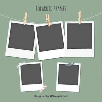 Polaroid frames set