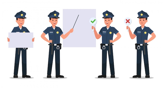 Police character set