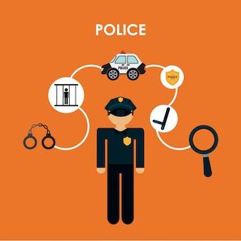 경찰 디자인