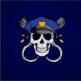 Police skull profession
