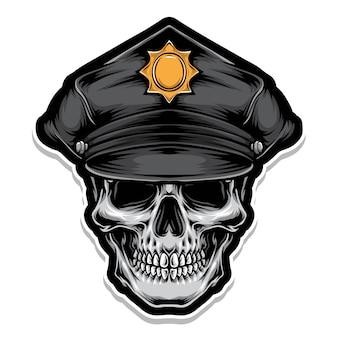 경찰 두개골
